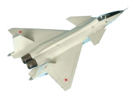 Сборная модель ZVEZDA Российский многофункциональный истребитель нового поколения МиГ 1.44 МФИ, 1/72