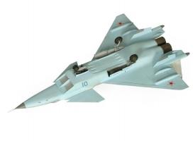 Сборная модель ZVEZDA Российский многофункциональный истребитель нового поколения МиГ 1.44 МФИ, 1/72 1