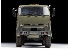 Сборная модель ZVEZDA Российский трехосный грузовик К-5350 &quotМустанг&quot, 1/35 1