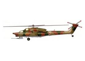 Сборная модель ZVEZDA Российский ударный вертолёт Ми-28А, подарочный набор, 1/72