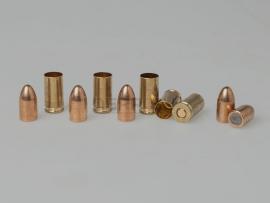7821 Дозвуковой комплект 9х19-мм (Люгер) пуля и декапсюлированная гильза