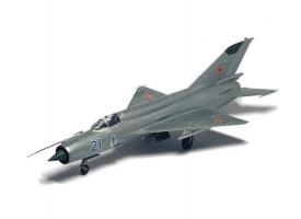 Сборная модель ZVEZDA Советский истребитель МиГ-21БИС, 1/72