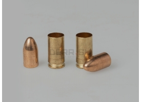 Дозвуковой комплект 9х19-мм (Люгер) пуля и декапсюлированная гильза