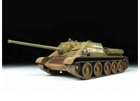 Сборная модель ZVEZDA Советский истребитель танков Су-85, 1/35