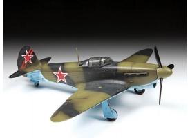 Сборная модель ZVEZDA Советский истребитель Як-1б, 1/48