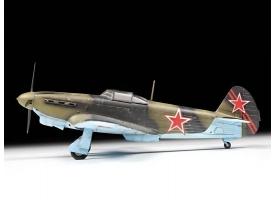 Сборная модель ZVEZDA Советский истребитель Як-1б, 1/48 1