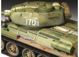 Сборная модель ZVEZDA Советский средний танк Т-34/85, 1/35 1