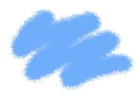 Краска ZVEZDA акриловая, голубая-авиа, 12 мл