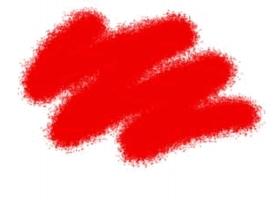 Краска ZVEZDA акриловая, красная (алая), 12 мл