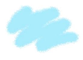 Краска ZVEZDA акриловая, светло-голубая, 12 мл