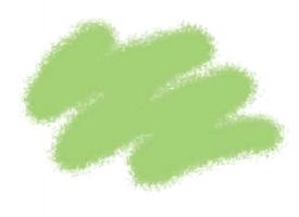 Краска ZVEZDA акриловая, светло-зеленая, 12 мл