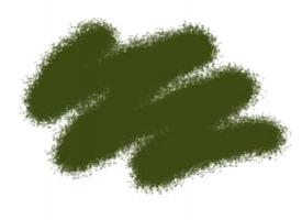 Краска ZVEZDA акриловая, темно-зеленая, 12 мл