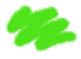 Краска ZVEZDA акриловая, ярко-зеленая, 12 мл