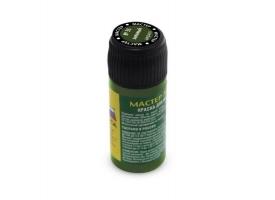 Краска ZVEZDA МАСТЕР-АКРИЛ акриловая, зеленая, 12 мл 1