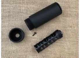 Пламегаситель закрытого типа Тактика-Тула Ночь под 7.62x39 для ВПО-133 и ВПО-136