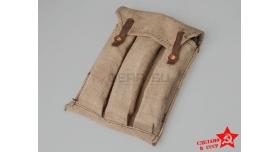 Подсумок для магазинов ППС / Оригинал поясной серый на 3 магазина [нг-12]