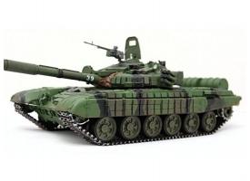 Сборная модель. Российский танк с активной броней Т-72Б. 1/35 1