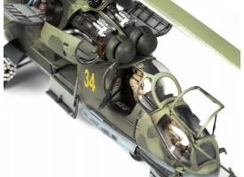 Сборная модель ZVEZDA Советский ударный вертолёт МИ-24П, 1/72 1