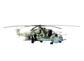 """Сборная модель ZVEZDA Советский ударный вертолет Ми-24В/ВП """"Крокодил"""", подарочный набор, 1/72"""