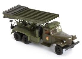 Сборная модель ZVEZDA Гвардейский реактивный миномет БМ-13 «Катюша», подарочный набор, 1/35