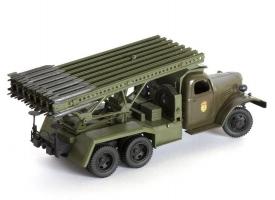 Сборная модель ZVEZDA Гвардейский реактивный миномет БМ-13 «Катюша», подарочный набор, 1/35 1