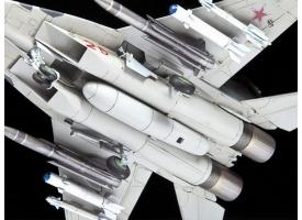 Сборная модель ZVEZDA Многоцелевой фронтовой истребитель МиГ-29 СМТ, 1/72 1