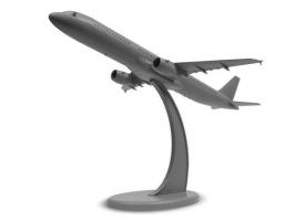 Сборная модель ZVEZDA Пассажирский авиалайнер Аэробус А-321, 1/144 1