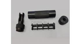 Макет глушителя «Брамит» для револьвера Наган / Новый, байонетный тип крепления [нг-55]