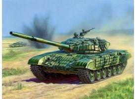 Сборная модель ZVEZDA Российский основной танк с активной броней Т-72Б, подарочный набор, 1/35