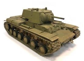 Сборная модель. Танк КВ-1 образца 1940 года. 1/35 1