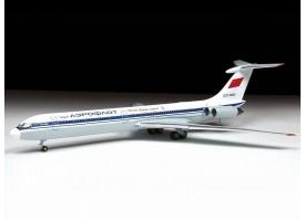 Сборная модель. Самолет Ил-62М. 1/144 1