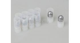 Пуля «Импульс-1» 16 калибра / 10 шт. Свинцовая с пластиковым контейнером 24,5 грамм [нг-35]