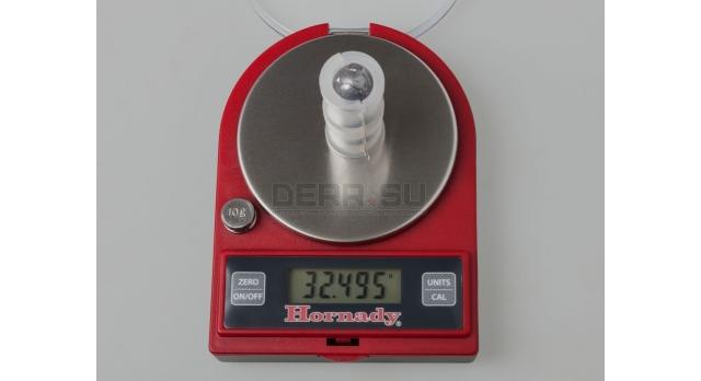 Пуля «Кабан» 16 калибра / 10 шт. 3 свинцовых шара с пластиковым контейнером масса шаров 28,5 грамм [нг-37]
