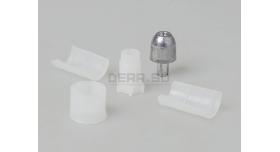 Пуля «Импульс-6» 12 калибра / 10 шт. Свинцовая с пластиковым контейнером 28,5 грамм [нг-31]