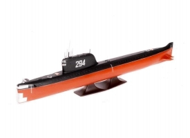 Сборная модель ZVEZDA Советская атомная подводная лодка К-19, 1/350
