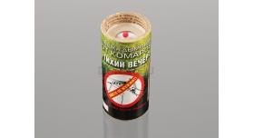 Дымовая шашка от комаров «Тихий вечер» / Инсектицидная 10% переметрина [сиг-366]