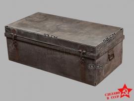 8485 Корабельный оцинкованый рундук довоенного периода