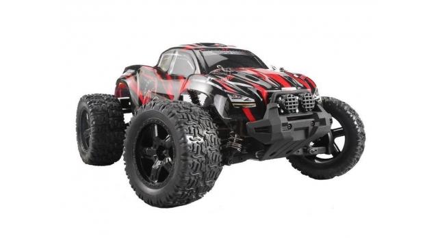 Радиоуправляемый монстр Remo Hobby MMAX PRO (красный) Li-Po 4WD 2.4G 1/10 RTR 1