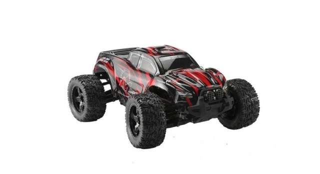 Радиоуправляемый монстр Remo Hobby MMAX PRO (красный) Li-Po 4WD 2.4G 1/10 RTR 2