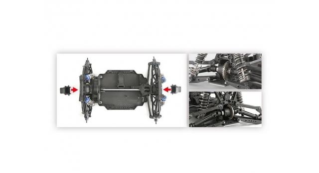 Радиоуправляемый монстр Remo Hobby MMAX PRO (красный) Li-Po 4WD 2.4G 1/10 RTR 13
