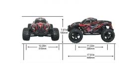 Радиоуправляемый монстр Remo Hobby MMAX PRO (красный) Li-Po 4WD 2.4G 1/10 RTR 14