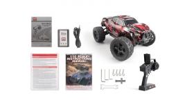 Радиоуправляемый монстр Remo Hobby MMAX PRO (красный) Li-Po 4WD 2.4G 1/10 RTR 16