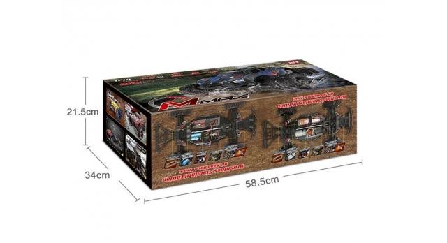 Радиоуправляемый монстр Remo Hobby MMAX PRO (красный) Li-Po 4WD 2.4G 1/10 RTR 17