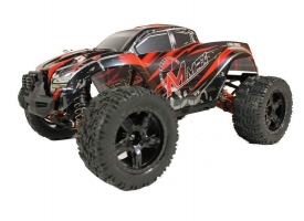 Радиоуправляемый монстр Remo Hobby MMAX UPGRADE (красный) 4WD 2.4G 1/10 RTR 1