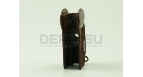 Рукоятка для пистолета ПМ / Коричневый бакелит Б/У [пм-12]