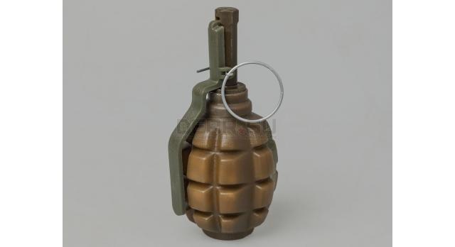 Страйкбольная граната Ф1 с поражающими элементами (F-1S PyroFX) / Поражающий элемент горох [сиг-348]