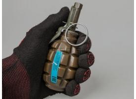 Пейнтбольная граната Ф1 (F-1P PyroFX) / Поражающий элемент - жидкий краситель на водной основе [сиг-351]