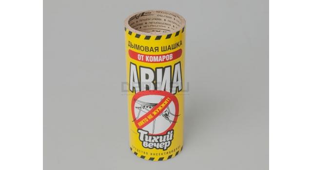 Дымовая шашка от комаров «Тихий вечер» / Инсектицидная 10% переметрина