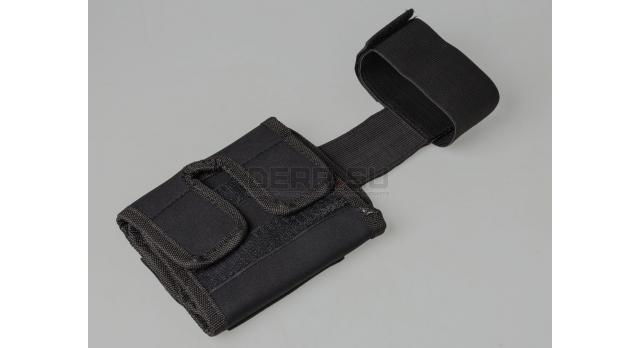 Кобура для скрытого ношения пистолета на ногу