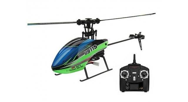 Радиоуправляемый вертолет WLToys V911S 4Ch 2.4G RTF 7